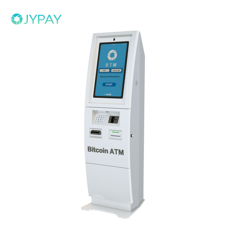 Hot Sale <strong>22</strong> inch Sell Bitcoins with Software One-way Bitcoin ATM Machine Kiosk