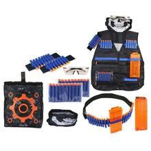 28 шт., окончательный тактический жилет-Кобура, ремешки для напульсников, набор для напульсников Nerf-Guns N-Strike Elite, детские подарки для детей(Китай)