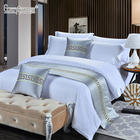 New design home textile comfortable modern star hotel bed runners for king size bed