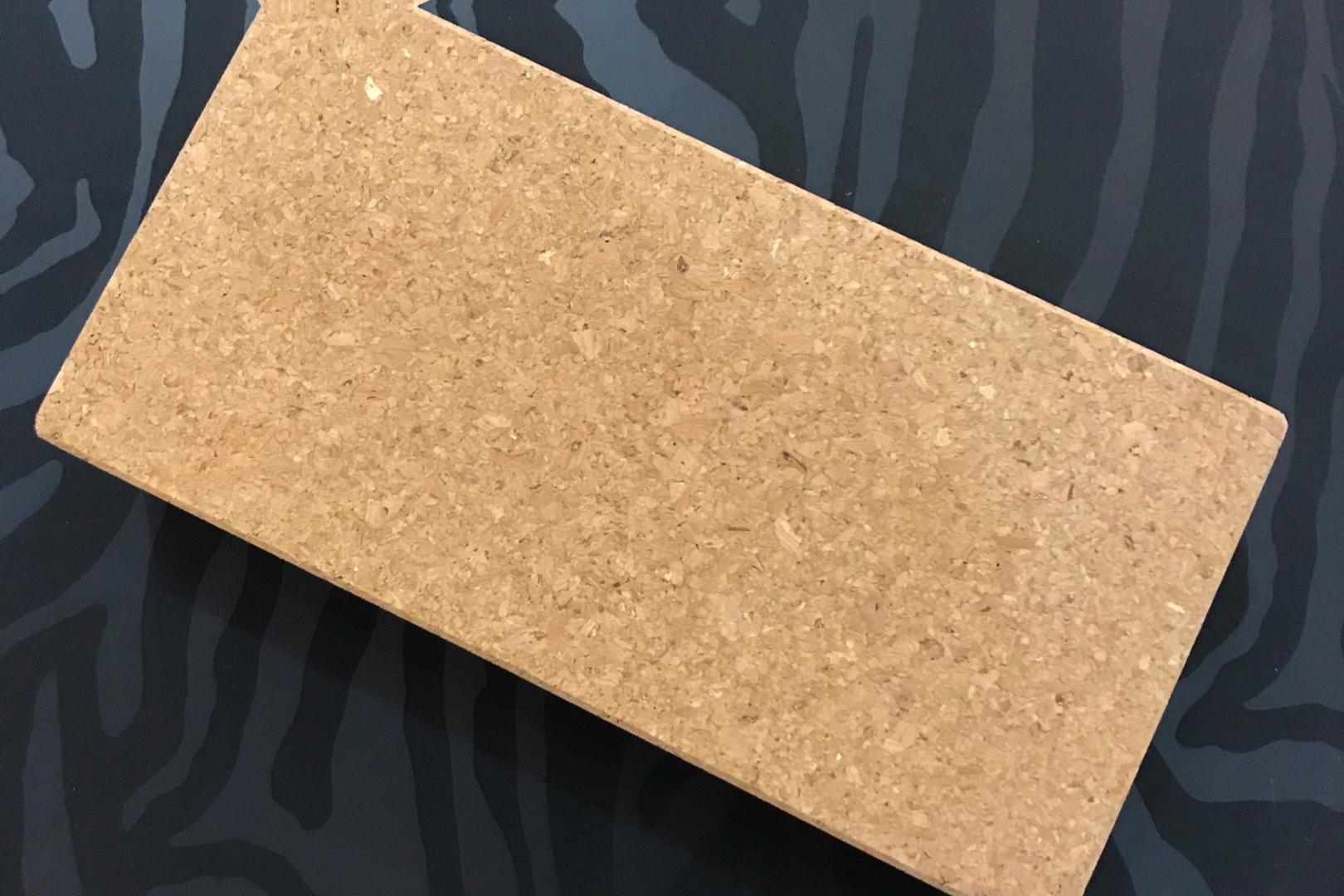 "High-density 3''x6""x9"" size wholesale custom logo natural yoga cork block"
