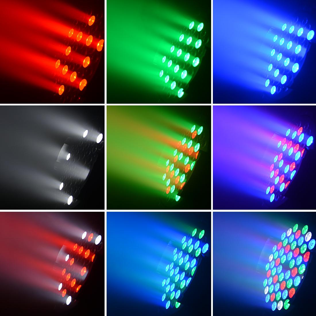 BETOPPER RGBW Par Wash Strobse Light 54* 3W Stage Led Light dj Light LP001