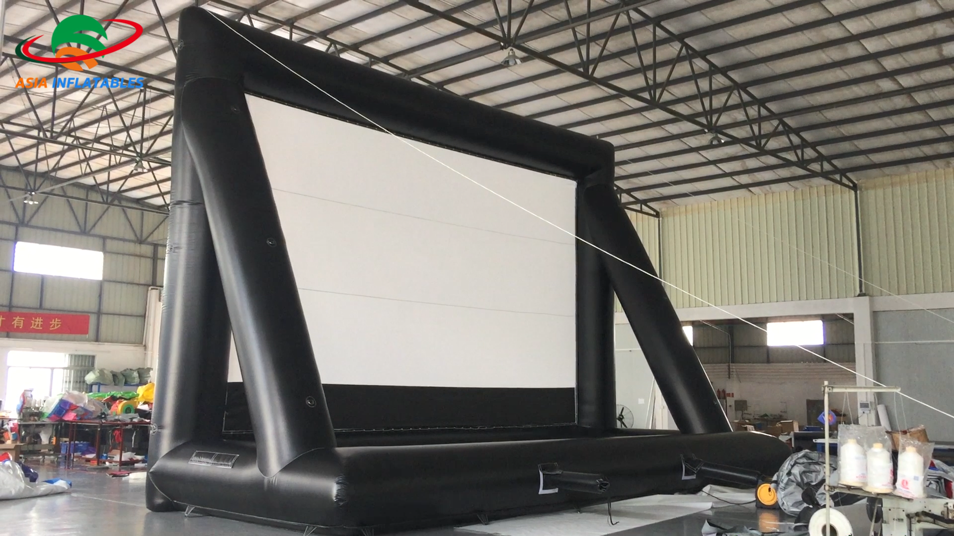 Drive in Movie Screens for Sale, Outdoor Cinema Inflatable movie screen with stand