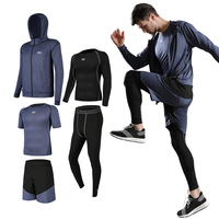 Custom Sports Hoodie Mens Dry Fit Gym Clothes Fitness Yoga Wear Outdoor Jogging Sportswear