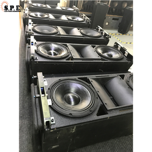 Dual 8 inch DJ Audio Sound System Speakers karaoke room professional audio