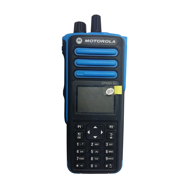 Handheld Walkie Talkie 100KM Atex Walkie Talkie  With GPS Motorola DP4801EX