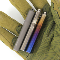 Titanium Pill Case Toothpick Holder Toothpick Box Emergency drug Sealed warehouse Container