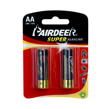 PAIRDEER private 1.5V LR6 label alkaline battery aa