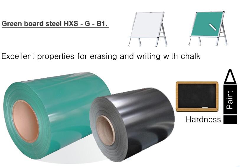 blackboard /writing board sheets / coil  classroom chalk board school writing board steel coil
