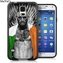 Защитный чехол MaiYaCa Conor McGregor для samsung Galaxy S6 S7 edge S8 S9 S10 Plus Lite Note 9 8(Китай)