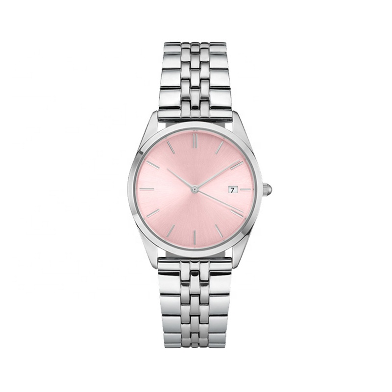 Wholesale Brand Your Logo Japan Movt Quartz Waterproof Pink Womens Stylish Girls Watches