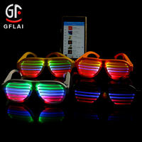 2020 Hot Sale New Product Sound Activated LED Light Glasses For Celebration&Party.