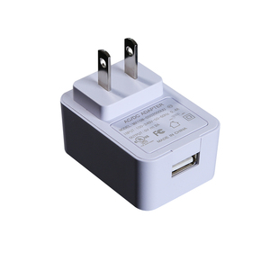 travel charger us plug 110vac to dc 5v2a power adapter 2000ma white