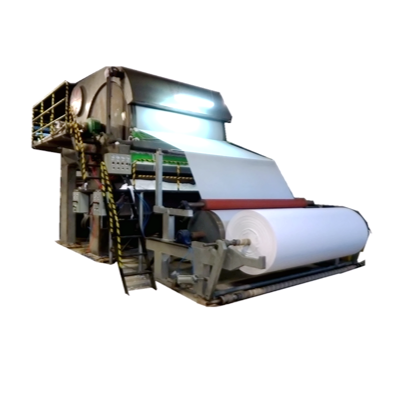 Waste Paper Recycling Jumbo Roll Small Toilet Paper Facial Tissue Sanitary Napkin Making Machine Price