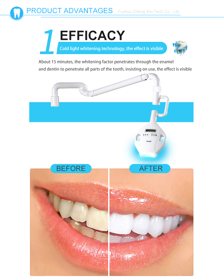 High quality attractive price md666 led dental professional teeth whitening lamp light led teeth whitening machine
