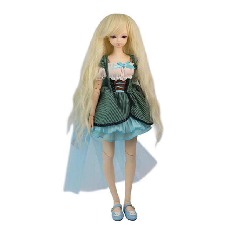 Фортуна дней 1/4 BJD Кукла Одежда фантазия блестящая Звезда вечернее платье комплект аксессуары Высокое качество Одежда для куклы bjd 45 см(Китай)