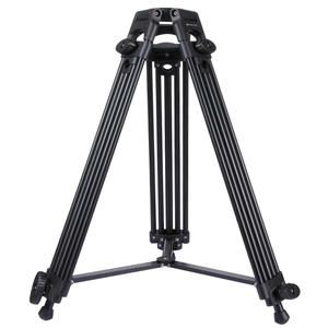 PULUZ Professional Heavy Duty Video Camcorder Aluminum Alloy Tripod for DSLR / SLR Camera, Adjustable Height: 62-140cm