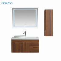Luxury Wall Mount Led Mirror Bathroom Vanity Sets