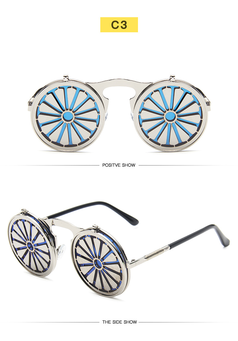 Fuqian Best large frame womens sunglasses customized for women-21