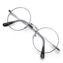 Ретро круглые металлические очки для чтения, прозрачные линзы для мужчин и женщин, очки для дальнозоркости, оптические очки по рецепту + 1 до ...(Китай)