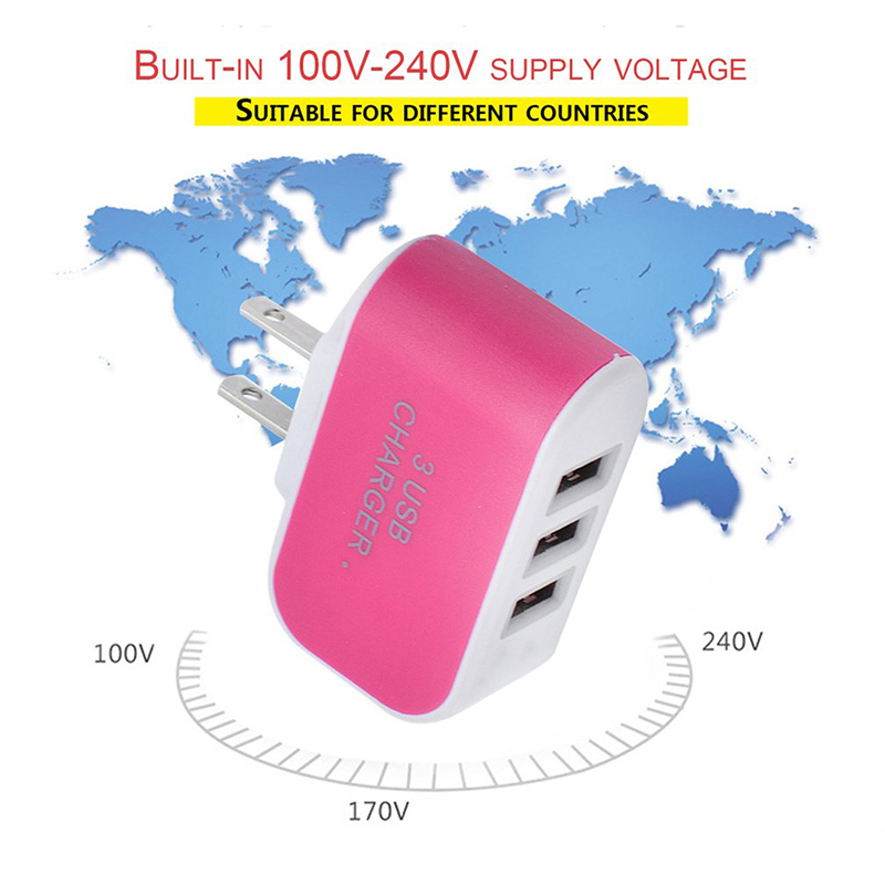 5V 2.1A USB Charger for iPhone 11 iPad Fast Wall Charger EU Adapter for Samsung S9 Mobile Phone Charger