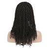 Charming wholesale kinky afro curl lace wig malaysian lace frontal wig preplcuked with baby hair