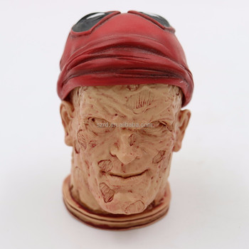 3D Printer Human Head 1/6 Figure Realistic Statue