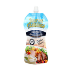 Custom Printing Plastic Food Packaging Pouch Drink Stand Up Shaped Spout Beverage Bag