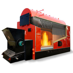 Full Automatic 1000 kg/hr Biomass Coal Fired Steam Generator Boiler for Rice Mill / Wood Processing / Sugar Mill