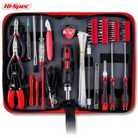 Hi-Spec 73 Piece Electrical Maintenance Tool Kit Computer Repairing tool set with Precision hand tools for IT, Smartphone Repair