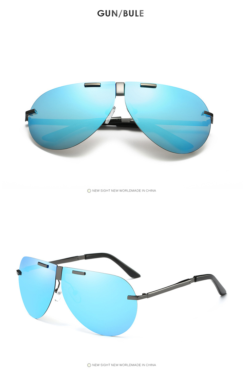 Fuqian folding sunglasses for business for driving-19