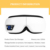 Eye Care Foldable Home Use Electric Eyes Vibrating Eye Massager