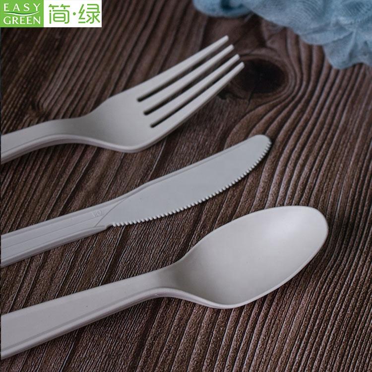 100% bio degradável biodegradáveis e compostáveis talheres facas garfos e colheres