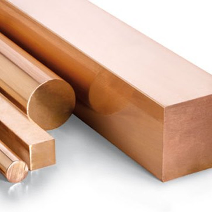99.9% copper earth rod 8mm pure copper solid round bar