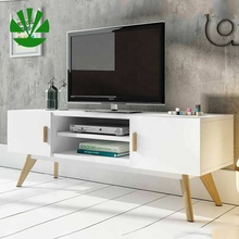 Aangepaste Moderne Entertainment Woonkamer Showcase <span class=keywords><strong>Media</strong></span> Console Tv Stand Unit