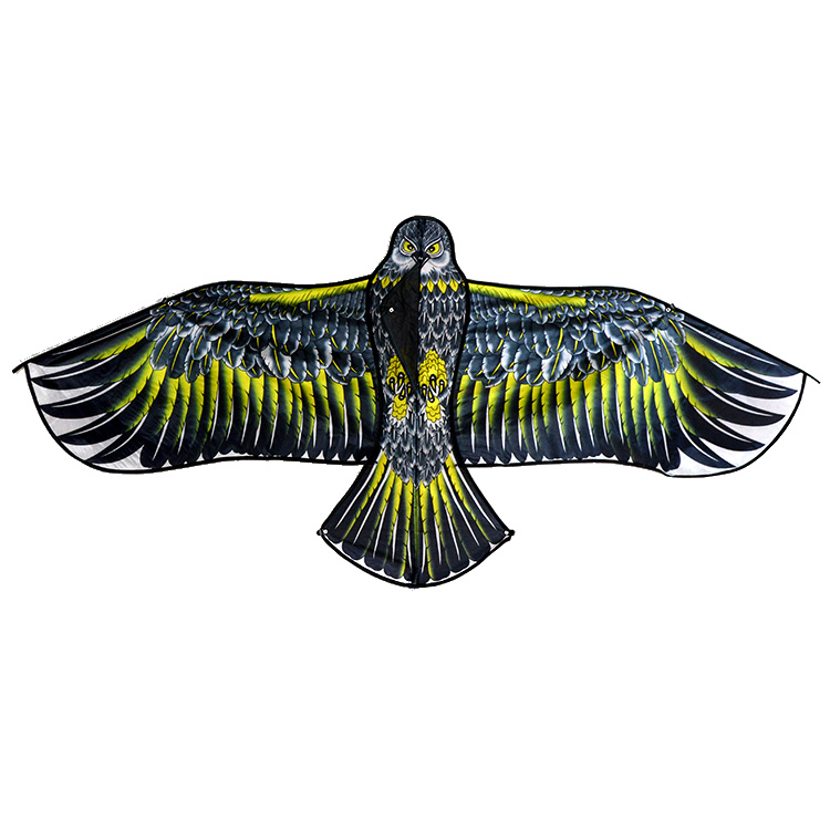 Chinese traditional kite workmanship Cheap small eagle bird kite 110cm for sale easy flying