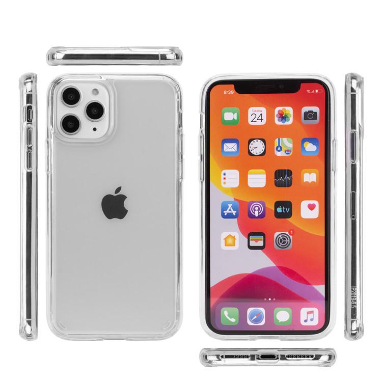 גבוהה היברידי צלול אקריליק קל משקל TPU כיסוי עבור iPhone 11 פרו מקסימום מקרה נייד טלפון אביזרי slim חזור