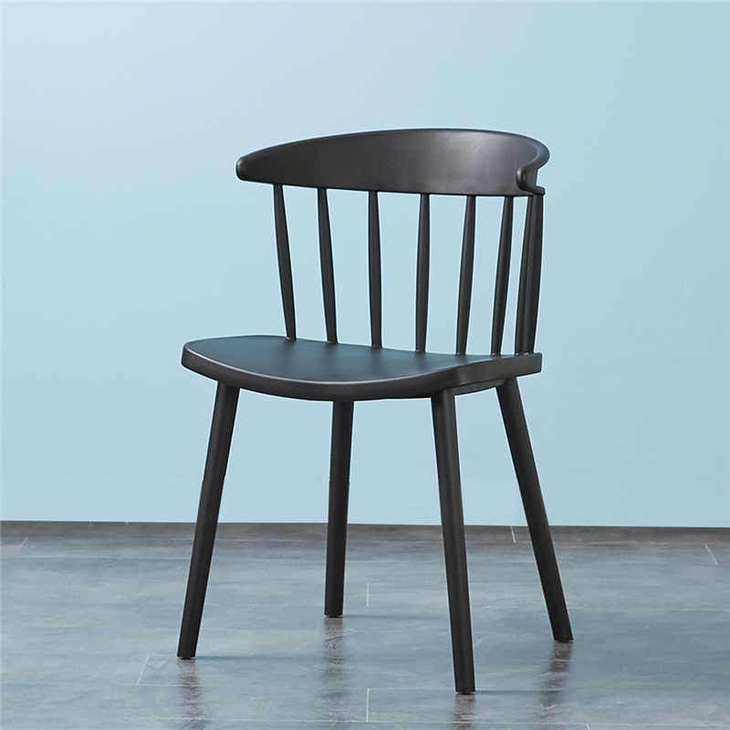 Bazhou factory cheap price home furniture wholesale multiple colors custom stackable hard plastic dining chair