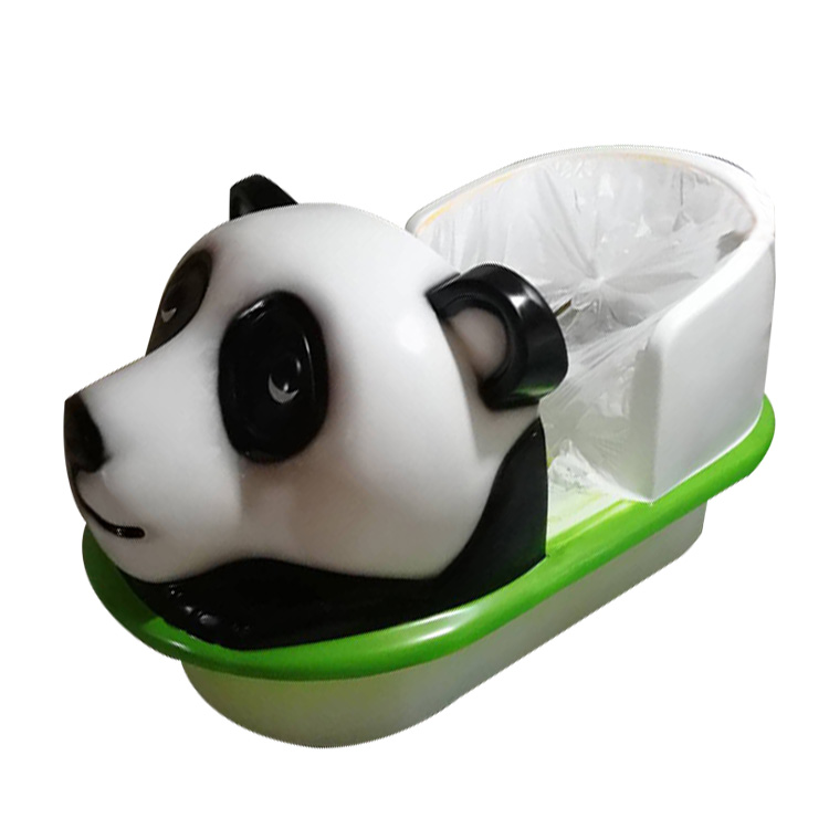 Amusement Cute Monkey Panda Dog Type Electric Bumper Boat