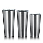 Eco 20oz/30oz Eco Friendly 304 Stainless Steel Tumbler Vacuum Insulated With Lids And Straw