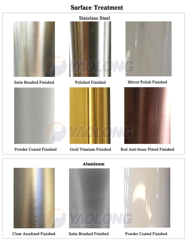Yaolong Aluminium 20ft Listrik Tiang Lampu Jalan untuk Penerangan Jalan