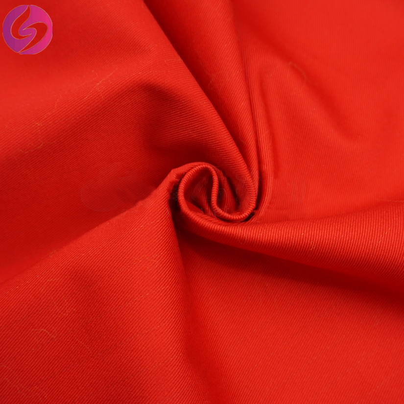 Cheap cotton ESD woven waterproof anti-static PU milky coating fabric for workwear clothing