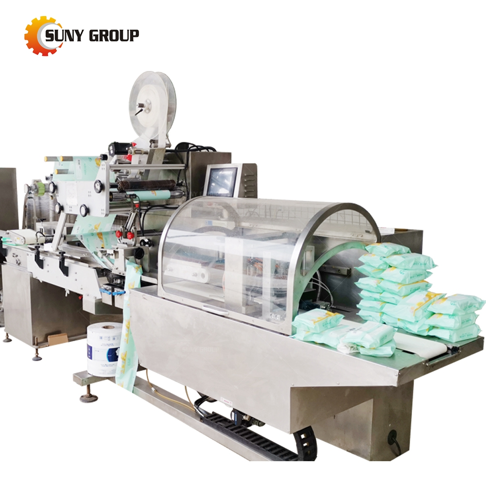Fully Automatic Wet Tissue Baby Wipes Making Machine
