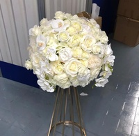 Wholesale wedding table decoration artificial flower arrangements