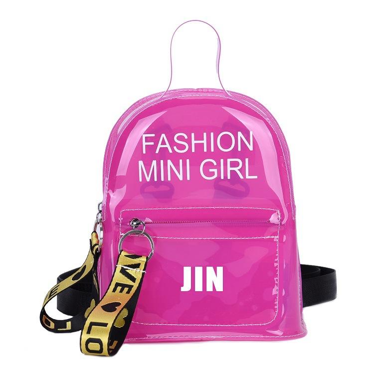 KPOP JIN SUGA V JUNGKOOK Jimin RM J-HOPE Rap Monster имя ПВХ желе сумочка на ремне мини сумка школьные сумки новая оптовая продажа(Китай)