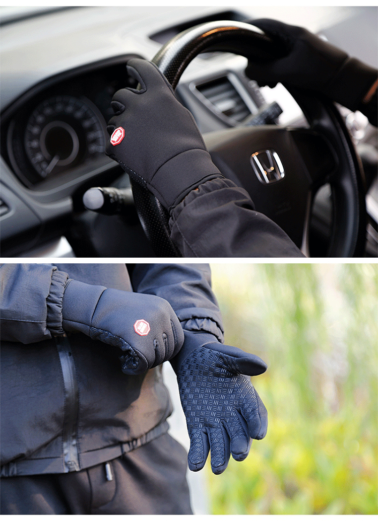 Men Women Cycling Gloves Motorcycle Bike Gloves Comfortable Black Mountain Bicycle Gloves