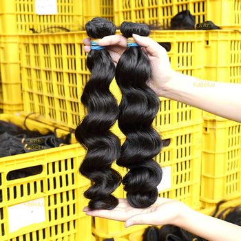china manufacturer 100% machine made dark black european hair weft