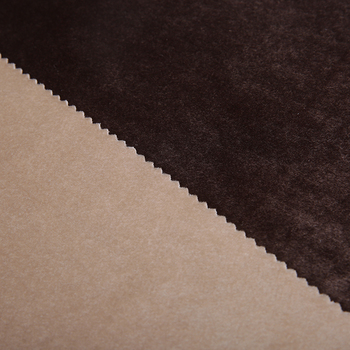 Velvet Fabric For Sofa Polyester Booth Sofa For Restaurant Viscose / Polyester Upholstery Sofa Fabric