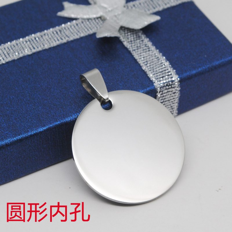 Charms stainless steel jewelry accessories fashion dog pendant custom logo factory wholesale