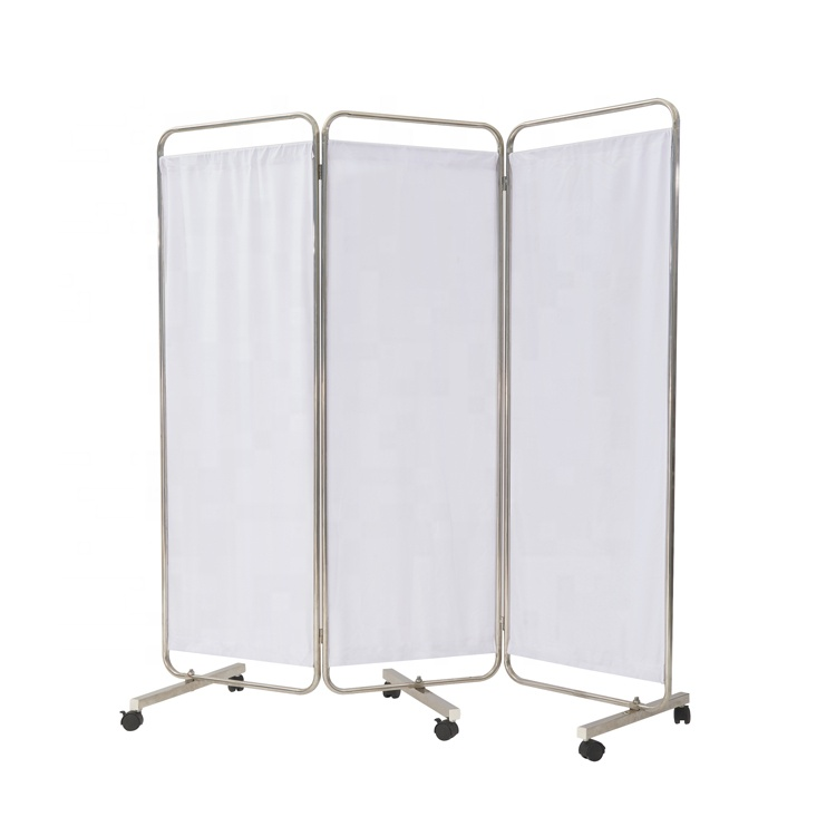 Hospital furniture medical screen folding/medical divider screen CY-H805