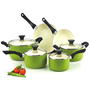 classic chinese ceramic cooking pots non stick set